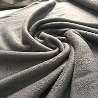 Флис темно-серый, графитовый, ширина 150 см, фото 1