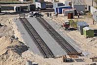 Строительство железнодорожного пути и стрелочных переводов