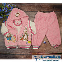 Тёплый костюм тройка для малыша Рост: 62,68,74 см (5737-1)