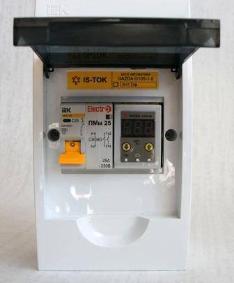 """Автоматика GAZDA G105-1-5 релейная """"Классика"""" для 1-фазных систем до 5 кВт, фото 2"""