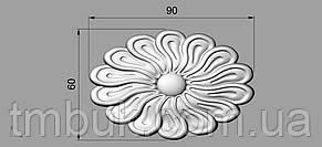 Розетка 33 - 90х60 - декоративная, фото 2