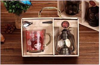 """Класний набір """"Чашка, ложка і сувенір"""" - оригінальний ніжний подарунок для будь-якого приводу"""