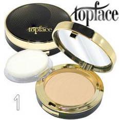 TopFace - Пудра компактная PT-257 Wet & Dry 2в1 Тон 01 creamy, очень-светлый тон