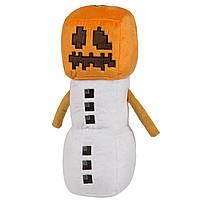 Minecraft NEW JINX ! Плюшевая игрушка Снежный Голем Майнкрафт (30см) Snow Golem