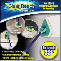 3 в 1 Clean Reach Щетка-швабра  для уборки с Тремя Насадками