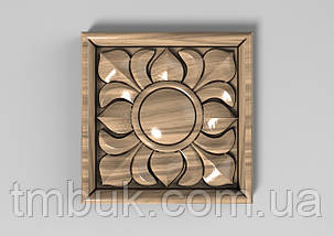 Розетка 40 - 60х60 - декоративная, фото 2