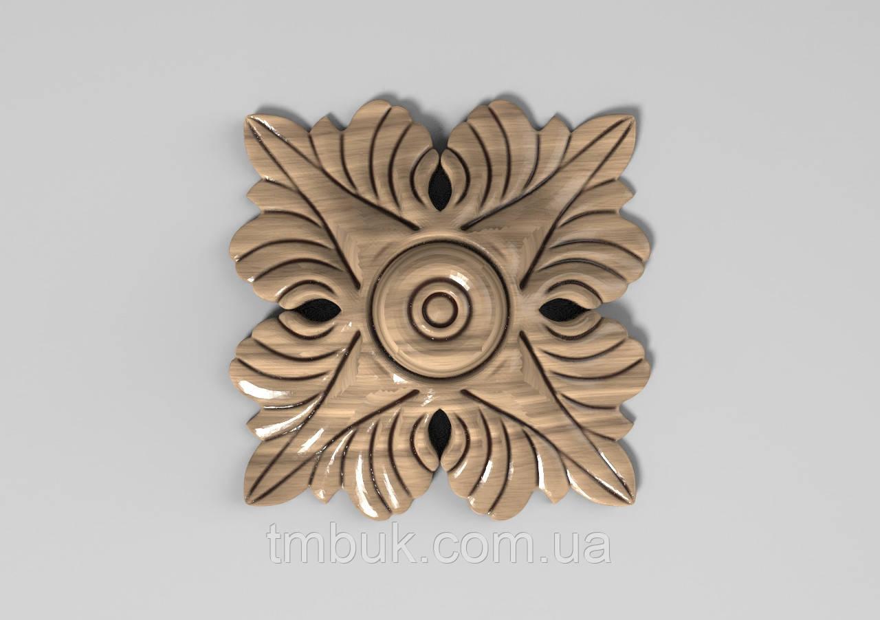 Розетка 42 - 60х60 - декоративная