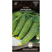 Семена Golden Garden Огурец Висконсин 1 г N10843098