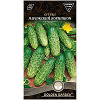 Семена Golden Garden Огурец Парижский корнишон 1 г N10843115