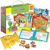 Настольная игра Vladi Toys Більше ніж Календар для малюка (укр) (VT2801-19)