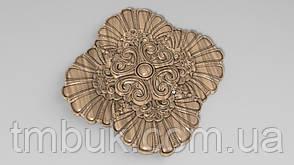 Розетка 46 - 150х150 - декоративная, фото 2