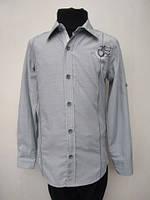 Рубашка для мальчиков Классика оливковая