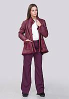 Куртка демисезонная из двустороннего текстиля