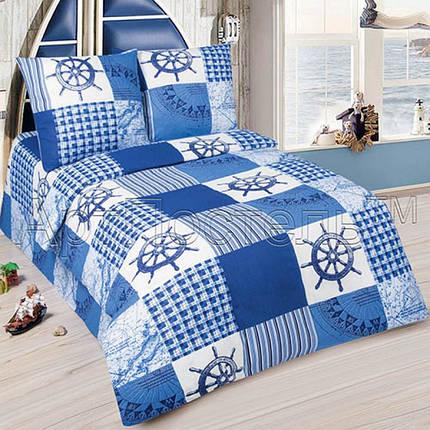 Постельное белье Мореход  поплин ТМ Царский дом в кроватку, фото 2
