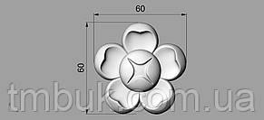 Розетка 49 - 60х60 -  декоративная, фото 2