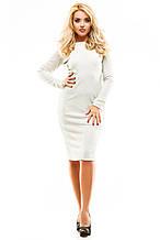 Платье люрекс 250 кремовое