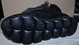 Ботинки молодежные зима из натуральной замши с ушками от производителя ЛУ418-2, фото 6