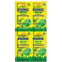 Пластины от комаров Picnic Family 10 шт N10503533