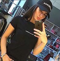 Крутая женская кепка  Balenciaga черная (реплика), фото 1