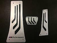 Накладки на педали M Performance  для BMW X5 E70