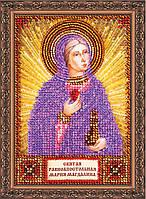 Набор для вышивки бисером именной мини-иконы «Святая Мария»
