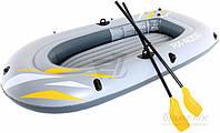 Лодка Bestway RX-4000 серый