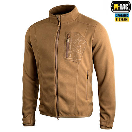M-TAC КОФТА STEALTH MICROFLEECE GEN.2 COYOTE BROWN, фото 2