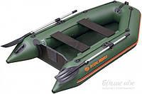 Лодка KOLIBRI KM-260.01.01 без пайола  зеленый