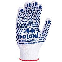 Перчатки с точкой ПВХ Expert Extra White 2 нити 577 N20806083