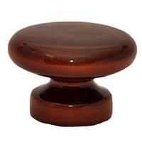 Ручка мебельная деревянная №3 коричневая N40402257