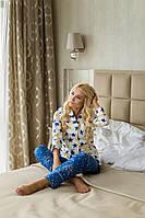 Женская пижама из хлопка со штанами 311912, фото 1