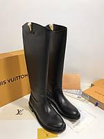 Женские кожаные сапоги HERITAGE от  LOUIS VUITTON