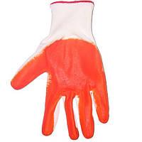 Перчатки нитриловое покрытие N10316097