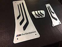 Накладки на педали M Performance для BMW Х6 e71