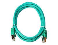 Патч-корд 2 м, FTP, Green, Cablexpert, литой, RJ45, кат.5е (PP22-2M/G)