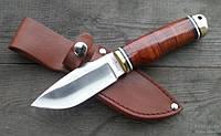 Нож нескладной Эльбрус, для охоты в комплекте с чехлом