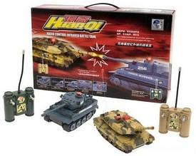 Танковый бой на радиоуправлении