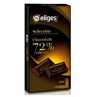 Шоколад Eliges 125гр, 72% какао