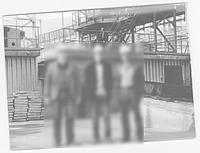 Монтаж отделения комплексной подготовки лома на металлургическом заводе.