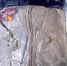 Свитер вязаный на молнии  беж 6-9 лет, фото 3