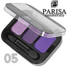 Parisa - Тени для век 3-цв. E-403 Тон 05 сирень, фиолет перламутр