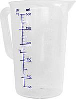 567104 Кувшин мерный из полипропилена, 0.5L, , Ø 90 мм, 140(H) мм  Hendi