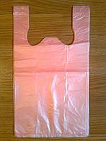 Пакет-майка супер 25х43 см/12 мкм, плотные фасовочные пакеты, пакет упаковочный, кульки производитель оптом