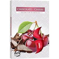 Набор арома-свечей Bispol p15-104 шоколад/вишня 6 шт N51156261