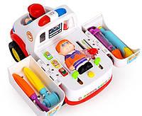 Игровой набор Доктор машинка 836
