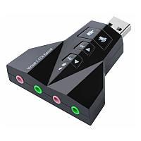 USB-адаптер, Звуковая карта 3D 7.1 sound card