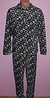 Пижама махровая мужская