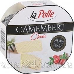 Сыр камамбер с белой плесенью натуральный La Polle Camembert 120 г