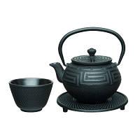 Набор для чая чугунный BergHOFF 0.35 л 5 предметов Черный (1107218)