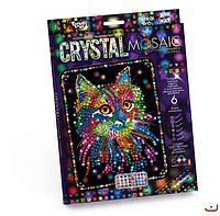 Набор для творчества CRYSTAL MOSAIC, Кот, Danko Toys